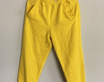 Yellow Pacer jogger sweatpants