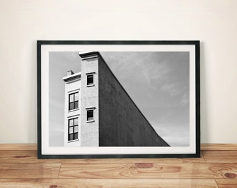 Art Building Abstract Art Photography Poster Print