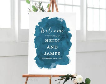 Printable Wedding Signs Welcome - Welcome Sign - Wedding Signage - Welcome Sign Wedding - Welcome Sign for Wedding PDF - (Item code: P056)