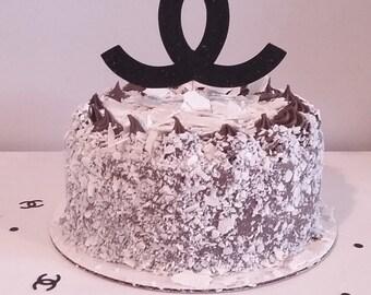 Coco Chanel Cake Topper