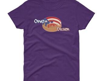 Puerto Rico T-shirt Donuts flag