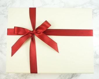 Boîte cadeau, boîte de cadeau de mariage, boîte cadeau Ivoire, cadeau de mariage, emballage boîte-cadeau