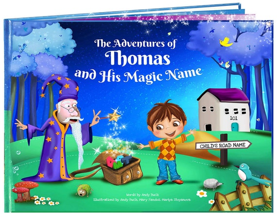 Personalized Children's Gifts Children's Book Gift