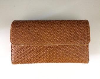 Vintage Boho Woven Clutch/Wallet