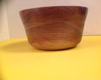 Handmade Walnut Bowl