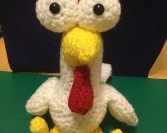 HayDay Chick Norris Amigurumi Pattern