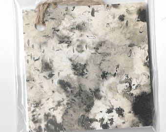 Gift Tag - Abstract Ink Print
