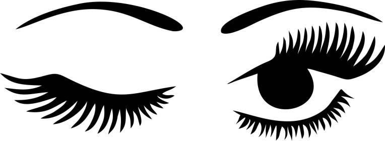 winking eyelashes digital download winking eye with lashes digital rh etsystudio com