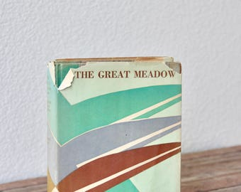 Romance Novel - The Great Meadow - Elizabeth Made Roberts - American Revolution - Vintage Romance Novel - Vintage Romance - Romance Books