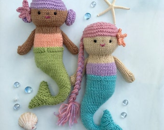 Free Crochet Amigurumi Mermaid Pattern : Original knit and crochet amigurumi patterns by amygaines on etsy