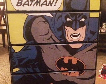 Batman Four Drawer Dresser