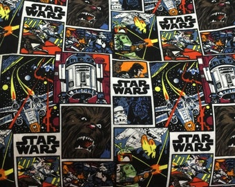 Comic star war Wookiees/R2D2/ cotton Fabric 48*160 cm knit DIY fabric 1/2y