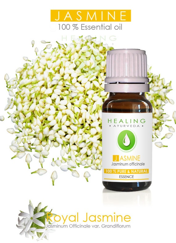 Jasmine essential oil - 100% Pure Jasmine Grandiflorum- SALE -10ml -Natural jasmine flower oil-  Undiluted Jasmine oil-Bath and beauty oil