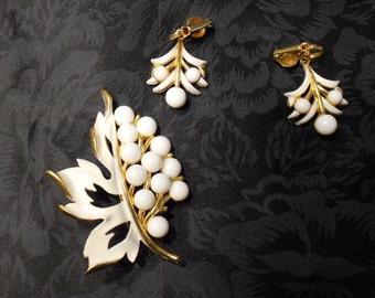 Rapallu/Brooch/Earrings/1950s