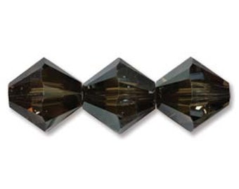 Swarovski Bicone Bronze Shade 6mm