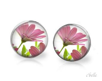 Earrings flowers spring