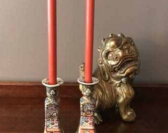 Chinese Candlestick Holders