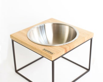 M-MOD Midcentury modern design dog bowl - Medium