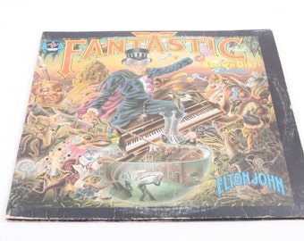 Elton John, Captain Fantastic and the Brown Dirt Cowboy, 1970's, Record, LP, Sleeve, Classic Rock, Piano Player, LGBT ~ 161122 ~ 161225