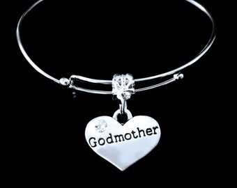 God Mother Bracelet Godmother bracelet  Godmother charm bracelet God Mother charm bracelet