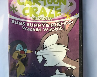 vCartoon Craze - Bugs Bunny and Friends Wackiki Wabbit on DVD