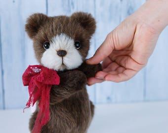 Artist collectible Teddy bear Bruno(OOAK)