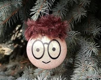 Harry potter inspired christmas ornament