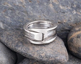 Silverware Handle Ring (Spoon Ring) Size 5 1/4 SR168