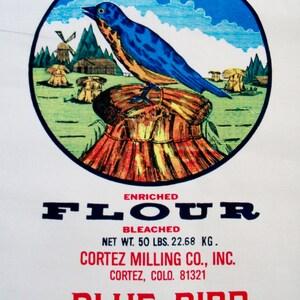 Flour Sack Fabric Etsy