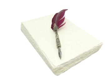 Handmade paper DIN A5 - 100 sheets - Wild Border