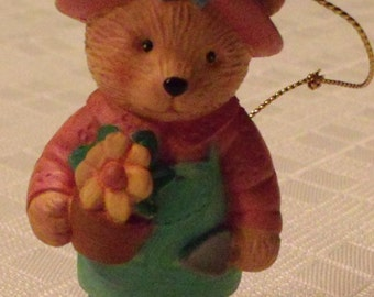 Bear Ornaments Avon Collectibles