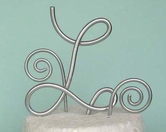 Personalized monogram Wedding Cake Topper