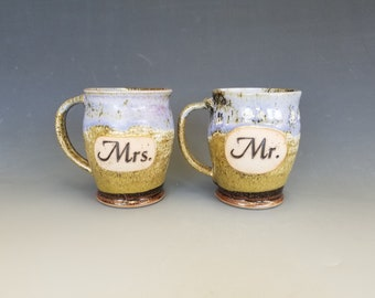 Mrs. and Mr. Mugs