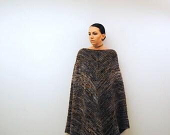 MATRIARCH Knitting Pattern PDF Bulky Weight Shawl