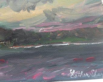A Lesson in Failure and Acceptance - original plein air painting