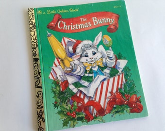 The Christmas Bunny - Arnold Rabin - Little Golden Storybook ~ The Pink Room ~ 161215