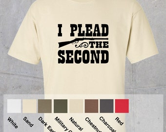 I Plead the 2nd - Winchester Tshirt
