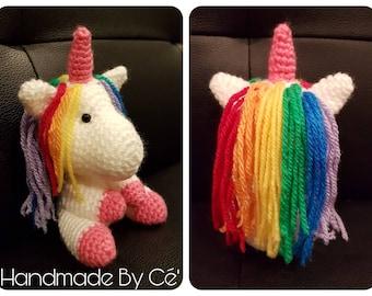 Baby Unicorn crochet amigurumi plush