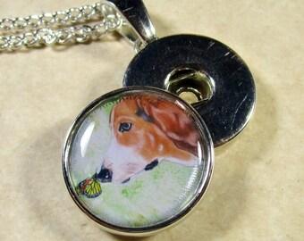 Basset Hound Snap Charm, Hound Dog Button Charm, Basset Hound Jewelry, Basset Hound Snap Jewelry, Basset Gifts, Basset Mom Gifts