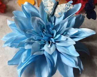 Pinup Dahlia Hair Flower