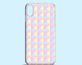 Pastel Studs phone case / iPhone X pastel cover, iPhone 8, 8/7 Plus, iPhone 7, iPhone 6, 6S, iPhone SE, 5, 5S, Samsung S7, S6 S6 Edge, S5