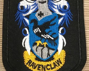 Harry Potter Ravenclaw Crest Iron On Patch