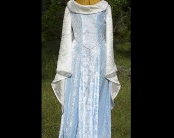 MADE TO ORDER Renaissance Fantasy Dress Costume - Wedding / Bridal Gown, Velvet