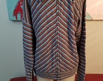 FREE  SHIPPING   1970  Sweater  Jacket