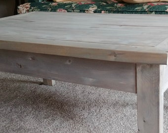 Weathered Coffee Table