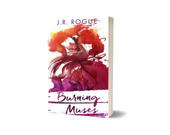 Burning Muses Signed Paperback (1st ed cover) - Signing Pre-Order
