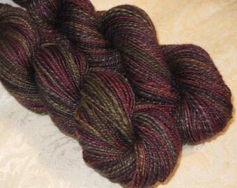 Handspun Yarn - Merino, Yak, Silk, BFL