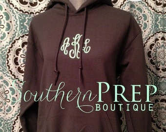 MONOGRAM HOODIE , Greek Embroidery Available