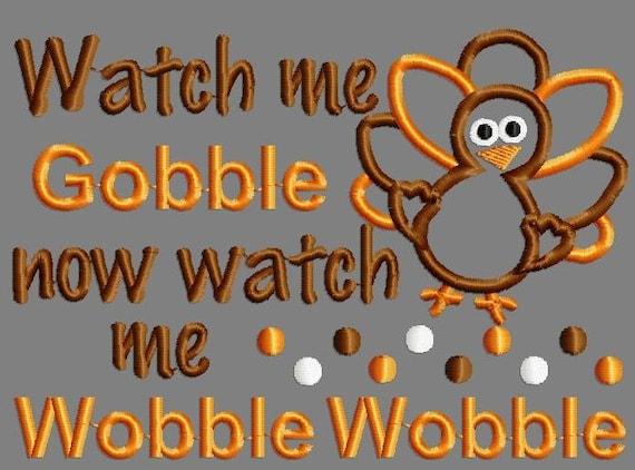 Buy 3 Get 1 Free Watch Me Gobble Now Watch Me Wobble Wobble