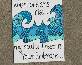 When oceans rise painting